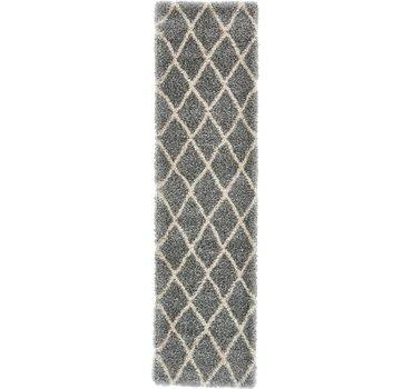 79x305 Luxe Trellis Shag Rug