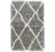 Link to 65cm x 90cm Luxe Trellis Shag Rug