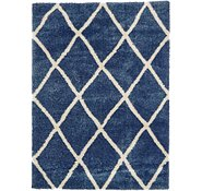 Link to 245cm x 340cm Luxe Trellis Shag Rug