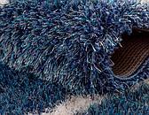 7' x 10' Luxe Trellis Shag Rug thumbnail image 4