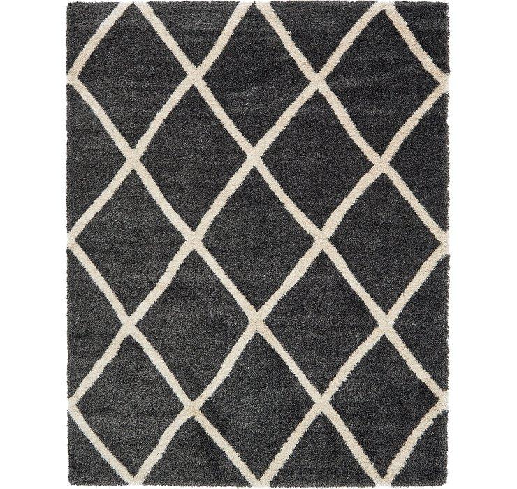 10' x 13' Luxe Trellis Shag Rug