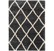 Link to 7' x 10' Luxe Trellis Shag Rug