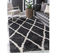 Link to 305cm x 395cm Luxe Trellis Shag Rug