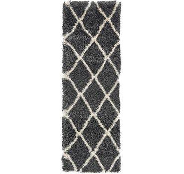 61x183 Luxe Trellis Shag Rug