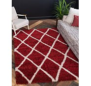Link to 213cm x 305cm Luxe Trellis Shag Rug