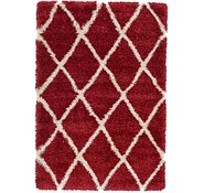 Link to 4' x 6' Luxe Trellis Shag Rug