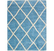 Link to 10' x 13' Luxe Trellis Shag Rug