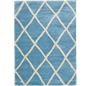 Link to 8' x 11' 2 Luxe Trellis Shag Rug
