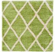 Link to 8' x 8' Luxe Trellis Shag Square Rug
