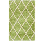 Link to 5' x 8' Luxe Trellis Shag Rug