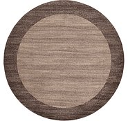 Link to Unique Loom 8' x 8' Del Mar Round Rug