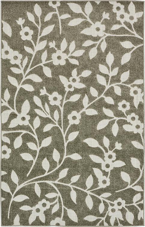 Brown 5 39 x 8 39 transitional indoor outdoor rug area rugs for Indoor outdoor rugs uk