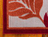 7' x 10' Outdoor Botanical Rug thumbnail image 8
