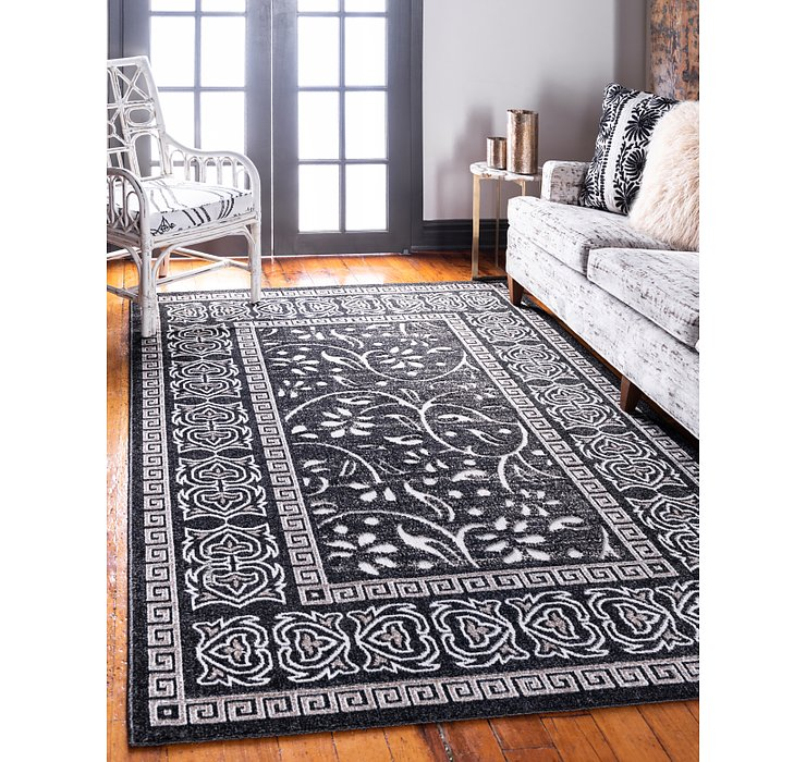 6' x 9' Outdoor Botanical Rug
