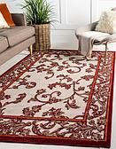 7' x 10' Outdoor Botanical Rug thumbnail