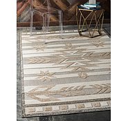 Link to Unique Loom 9' x 12' Outdoor Modern Rug