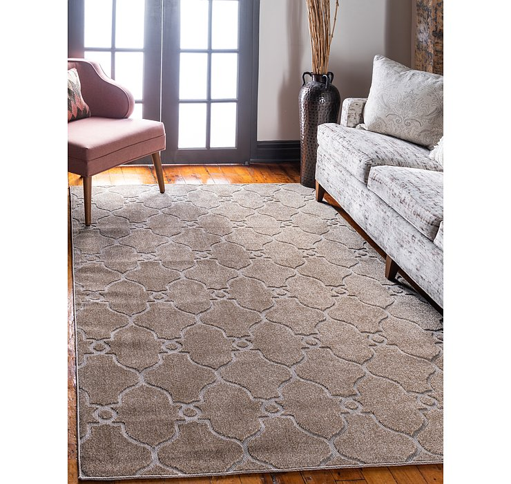 8' x 10' Outdoor Trellis Rug