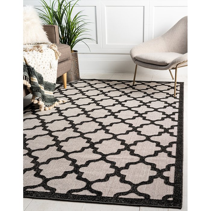 9' x 12' Outdoor Trellis Rug
