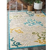 Link to 9' x 12' Outdoor Botanical Rug