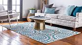 Unique Loom 6' x 9' Outdoor Modern Rug thumbnail image 2