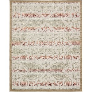 Unique Loom 8' x 10' Outdoor Modern Rug