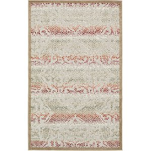 Unique Loom 5' x 8' Outdoor Modern Rug