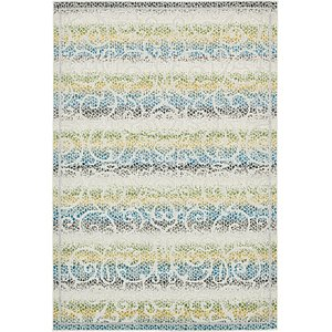 Unique Loom 6' x 9' Outdoor Botanical Rug