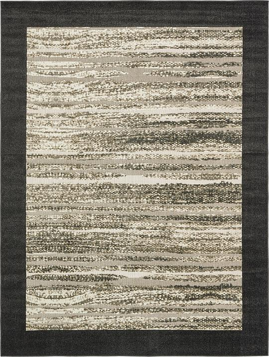 Beige 9 x 12 Transitional Indoor Outdoor Rug