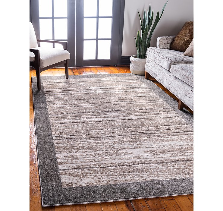 245cm x 305cm Outdoor Border Rug