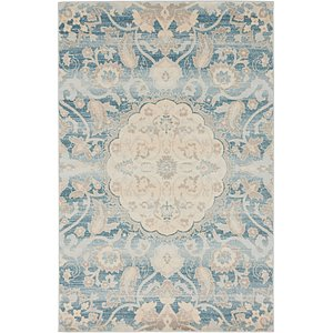 4x6 Blue Restoration  Rugs