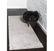 Link to Unique Loom 2' 7 x 10' Studio Solid Shag Runner Rug