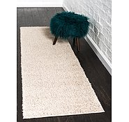 Link to 2' x 6' 7 Studio Solid Shag Runner Rug