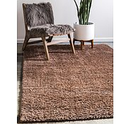 Link to Unique Loom 8' x 10' Studio Solid Shag Rug