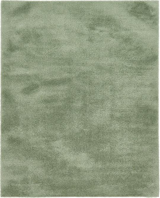 8x10 Sage Area Rug: Sage Green 8' X 10' Solid Shag Rug