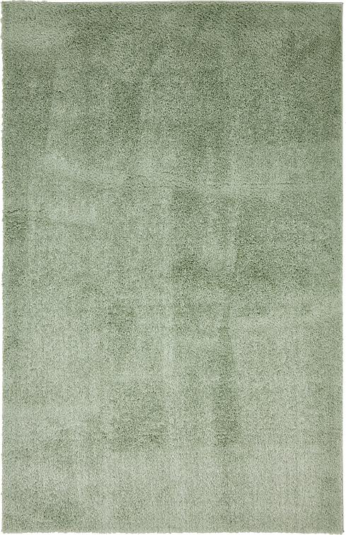 Sage Green 5 X 8 Solid Shag Rug Area Rugs Irugs Uk
