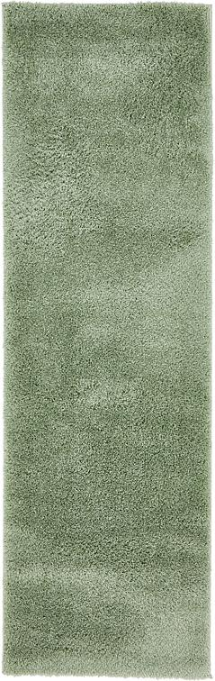 Sage Green 2 X 6 7 Solid Shag Runner Rug Area Rugs