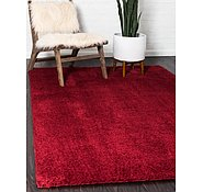 Link to Unique Loom 5' x 8' Studio Solid Shag Rug