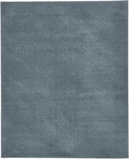 Slate Blue 8 X 10 Solid Shag Rug Area Rugs Esalerugs