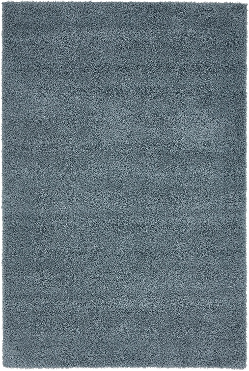 Slate Blue 4 X 6 Solid Shag Rug Area Rugs Irugs Uk