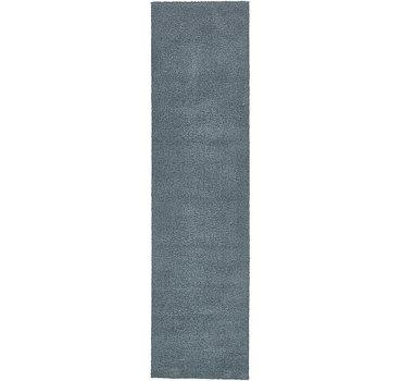 79x305 Solid Shag Rug