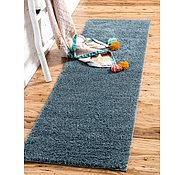 Link to 2' 7 x 10' Solid Shag Runner Rug
