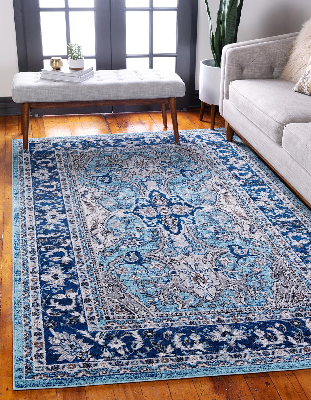 blue 9 39 x 12 39 heritage rug area rugs. Black Bedroom Furniture Sets. Home Design Ideas