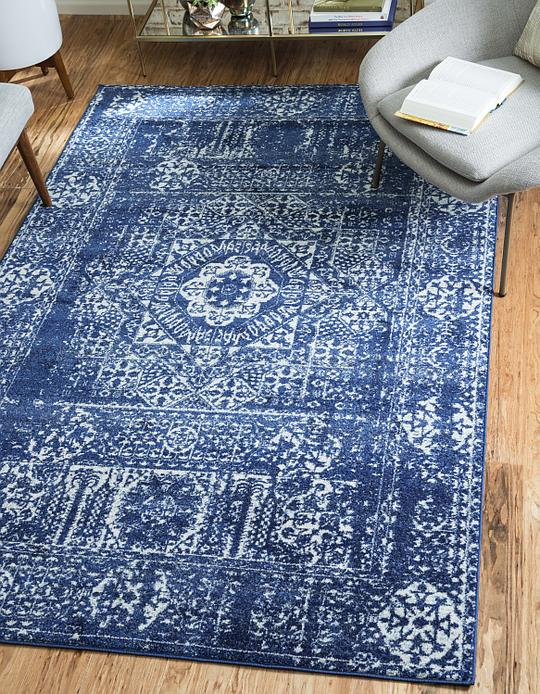 Royal Blue 5 X 8 Heritage Rug Area Rugs Rugs Ca
