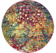 Link to 4' x 4' Barcelona Round Rug