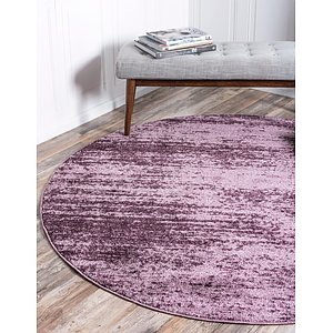 Unique Loom 8' x 8' Del Mar Round Rug