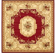 Link to 10' x 10' Classic Aubusson Square Rug