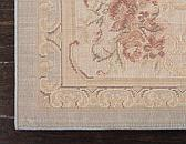 2' 7 x 10' Classic Aubusson Runner Rug thumbnail image 9