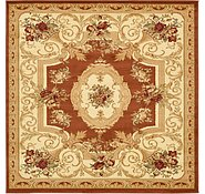 Link to 6' x 6' Classic Aubusson Square Rug