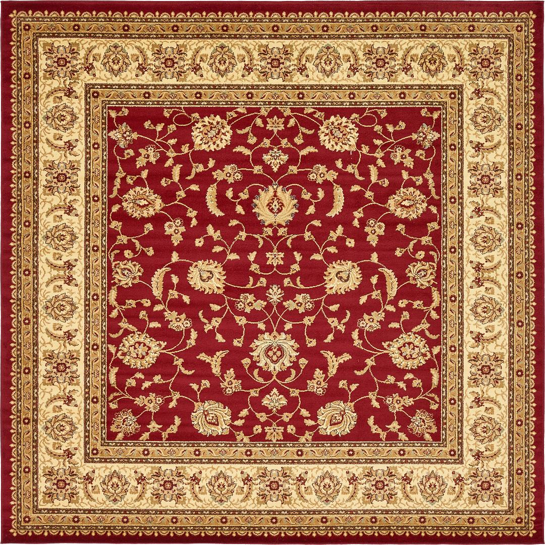 Red 10 X 10 Aditi Square Rug Area Rugs Rugs Com