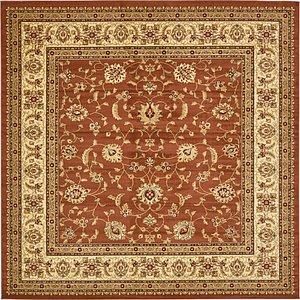 10' x 10' Classic Agra Square Rug
